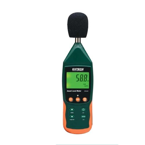 Medidor de nivel sonoro/Registrador de datos