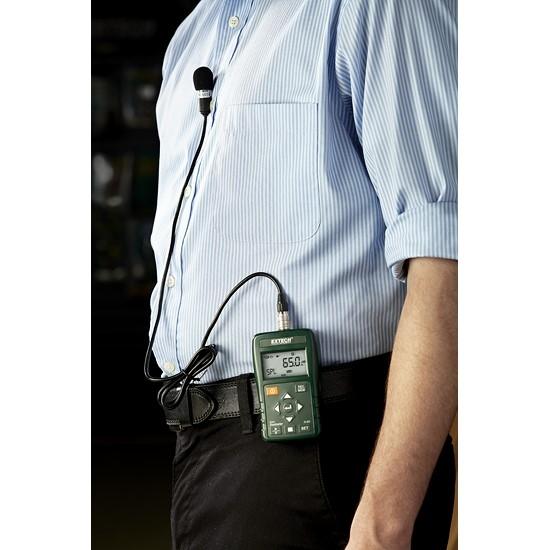 Dosímetro de ruido personal con interfaz USB