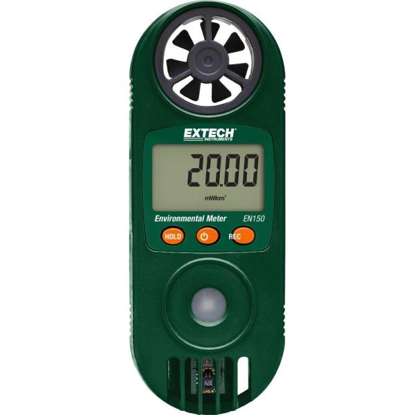 Medidor ambiental 11 en 1 con sensor de luz ultravioleta