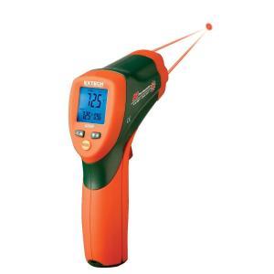 42509: Termómetro de infrarrojos de doble láser con alerta a colores Alarmas de máximo/mínimo con función de alarma visual
