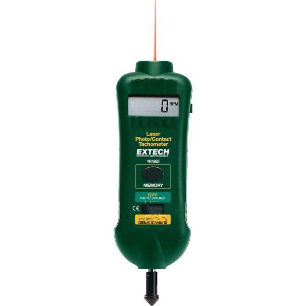 Fototacómetro de láser/contacto combinados