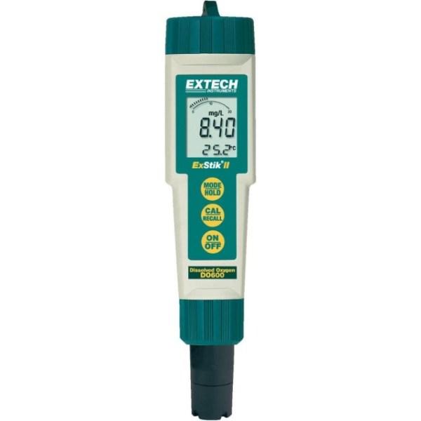 Medidor de oxígeno disuelto resistente al agua