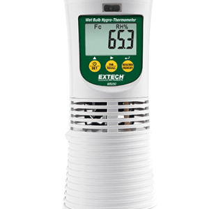 Registrador de datos de higrotermómetro de bulbo húmedo