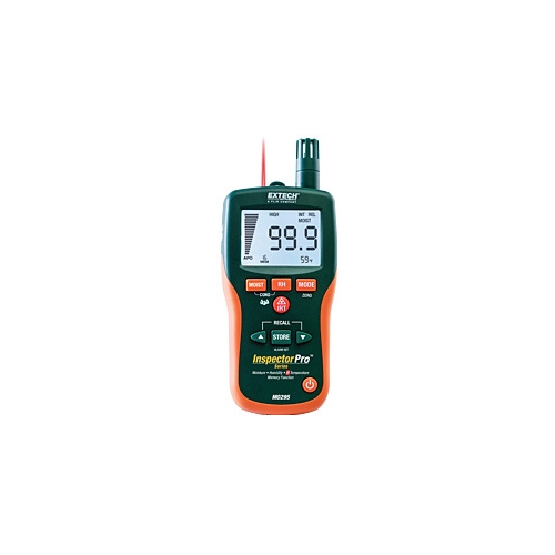 Higrosicrómetro sin clavija + termómetro de infrarrojos