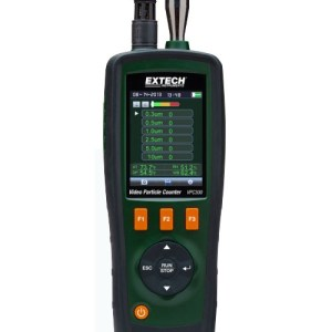 Video contador de partículas con cámara incorporada
