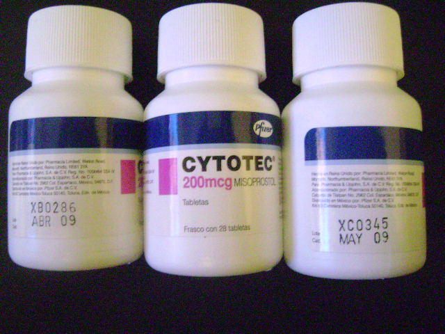 el misoprostol es un medicamento controlado