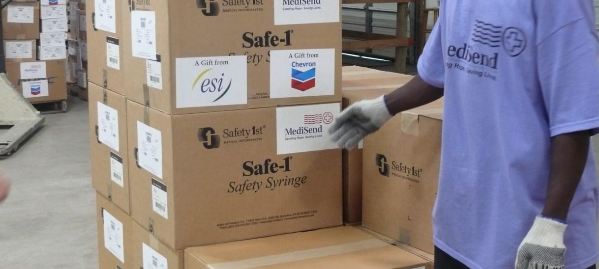 MediSend International Ships Medical Supplies to Ebola Stricken West Africa