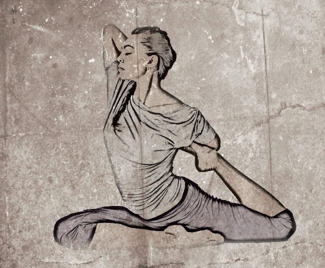 Resultado de imagen de yoga estirar posturas avanzadas