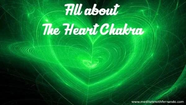 The heart chakra.