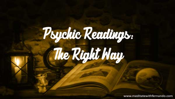 Psychic Readings, the right way.