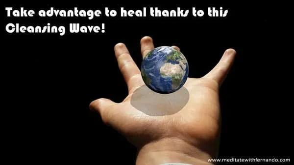 Powerful Global Healing Wave.