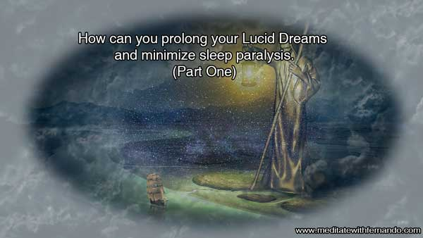 Minimize or even stop sleep paralysis and enhance your lucid dreams now!