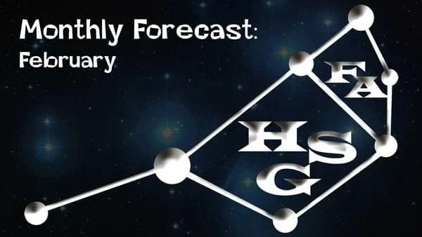 February forecast 2019.