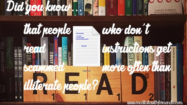 Reading helps succeed in life.