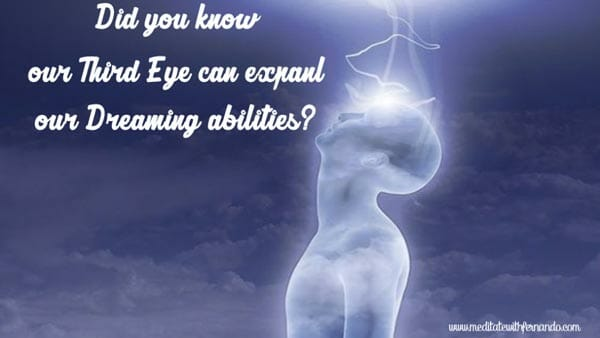 And open third eye expands dreams and intuition.