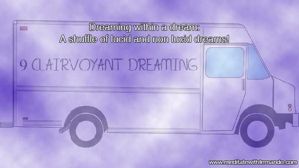 Dreaming in a dream within dreams.