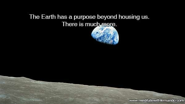 Earth is much more than housing.