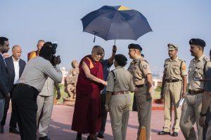 Tenzin Gyatso, actualul Dalai Lama.