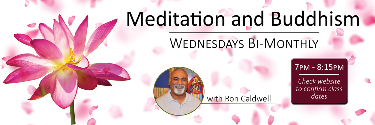 Wednesday Bi-Weekly Class with Ron Caldwell