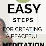 7 easy steps for creating a peaceful meditation space