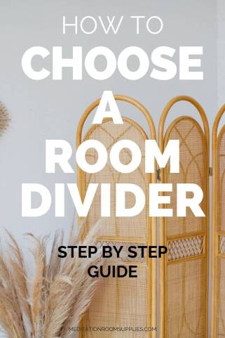 how to choose a room divider