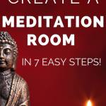 how to create a meditation room in 7 easy steps