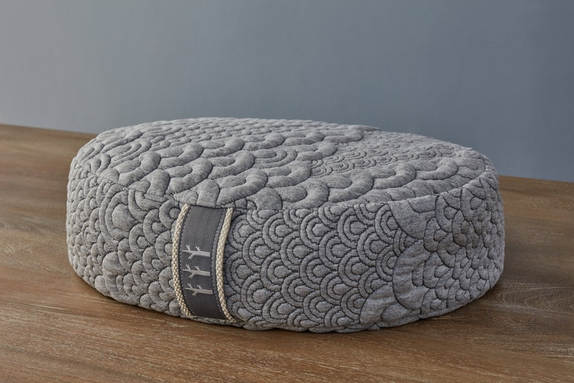 brentwood crystal cove oval meditation yoga pillow