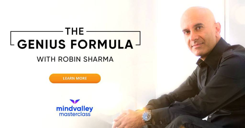 the genius formula with robin sharma