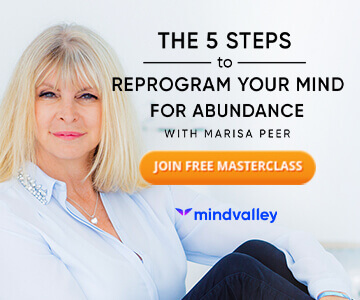 the 5 steps to reprogram your mind for abundance with marisa peer