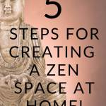 5 steps for creating a zen space at home