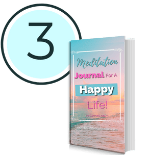 step 3 meditation journal for a happy life