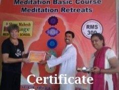 Meditation Certfication SMH