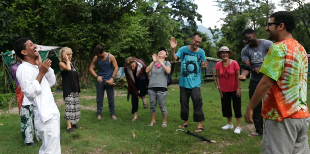 Laughter Yoga Training and Certification in Rishikesh India