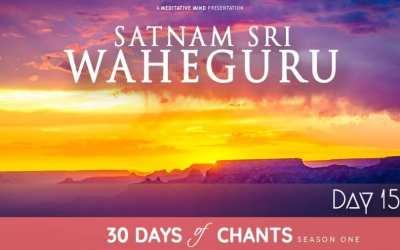 Day 15 | Satnam Sri Waheguru