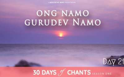 Day 21 | ONG NAMO GURU DEV NAMO – Mantra to Tune into your Higher Self