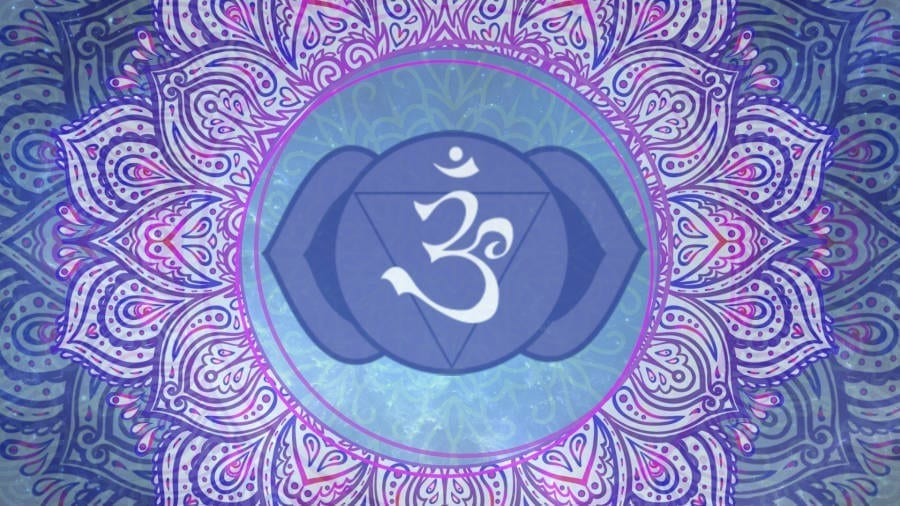 6. Third Eye Chakra Wallpaper