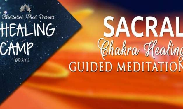 Sacral Chakra Healing Guided Meditation | Healing Camp #2