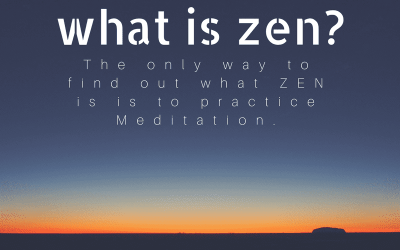What is Zen? The only way to find out is this.