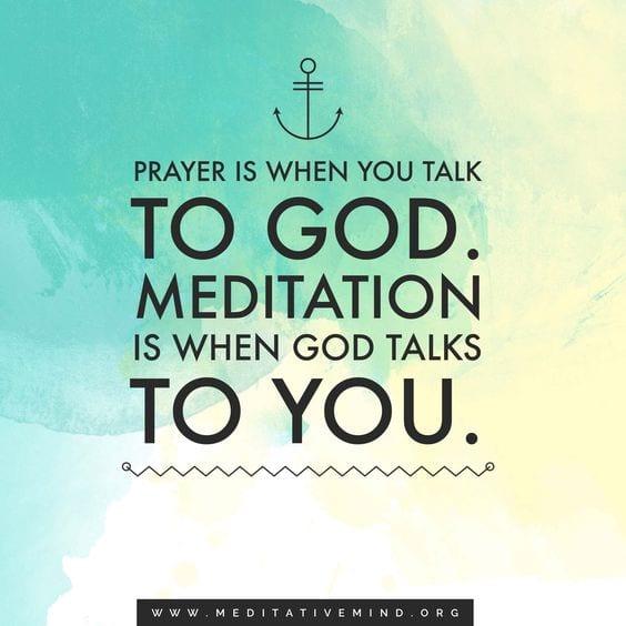 Meditation Quote   Its Like Talking To God   Meditation Music By Meditative  Mind