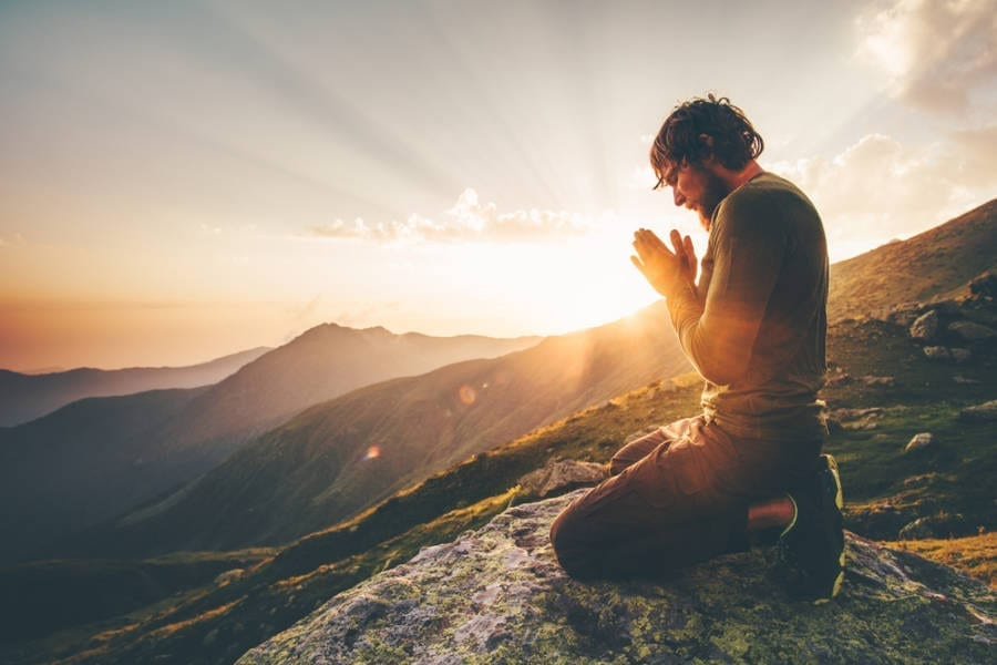 Spirituality by Meditative Mind