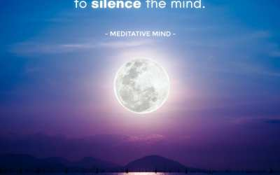 Your soul usually knows what to do to heal itself. The challenge is to silence the mind.
