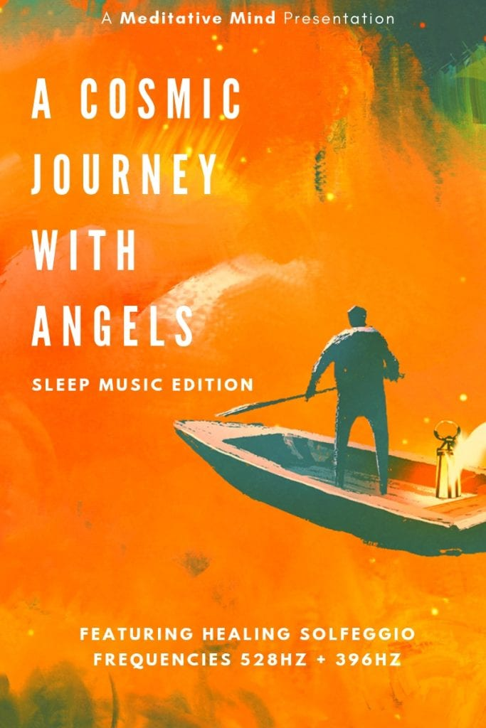 528Hz 396Hz Cosmic Angelic Sleep Music