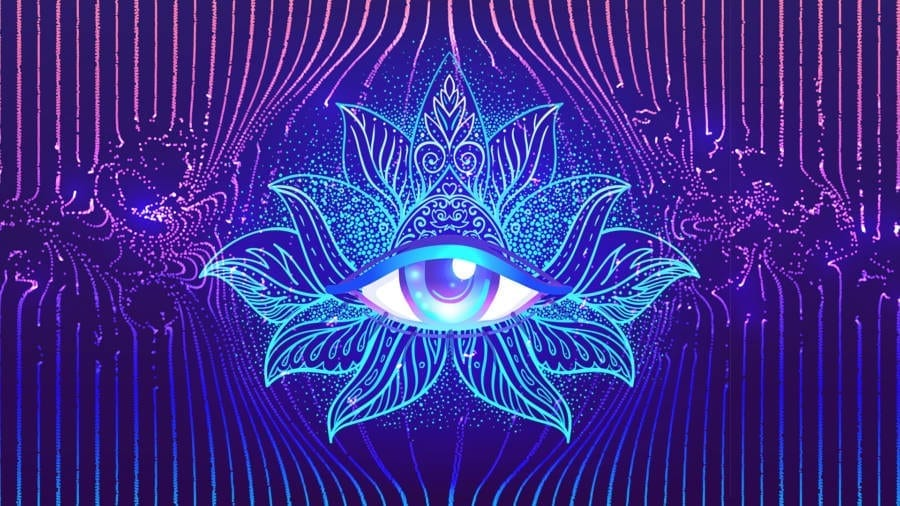 852Hz + WAH YANTEE MANTRA 》Awaken Crystal Clear Intuition 》Open Third Eye Chakra