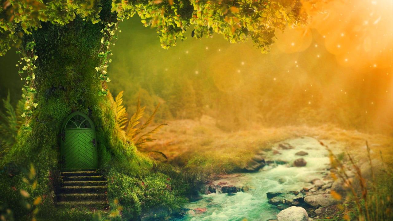 deep magical forest 396hz sound healing music