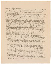 Lettera a H. Cotton Minchin