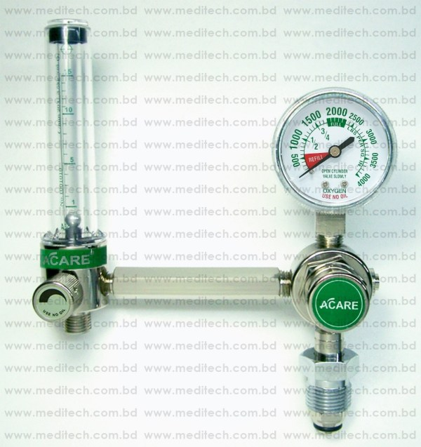 Acare Medical Oxygen Flowmeter