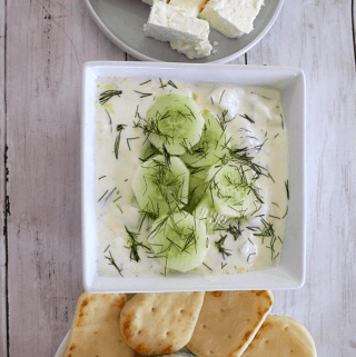 Tarator Albanian Cold Cucumber Soup