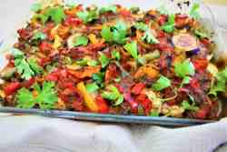 Mediterranean Vegan Vegetable Casserole
