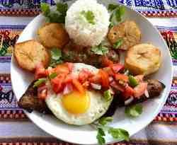 Bolivian Silpancho - Silpancho Boliviano