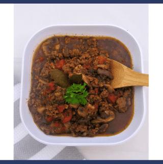 Mushrooms Beef Pasta Sauce